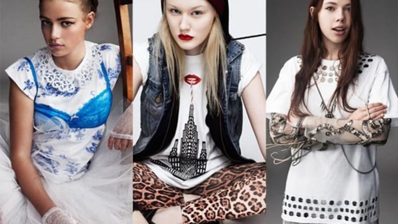 20 юбилейных футболок Topshop от молодых дизайнеров