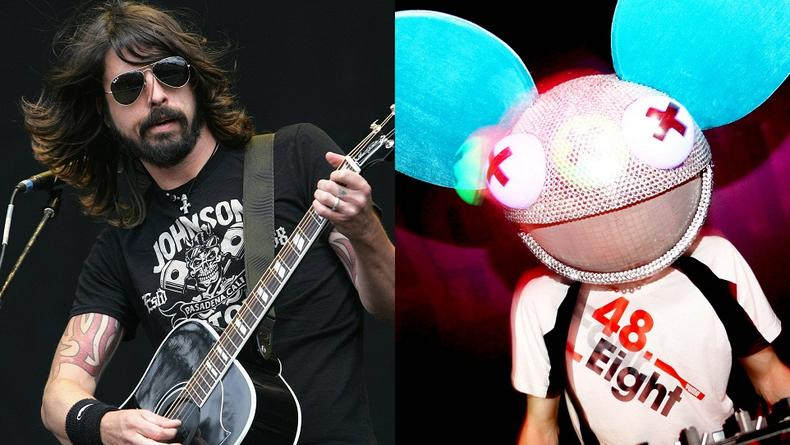 Foo Fighters выступят вместе Deadmau5 на Грэмми 2012