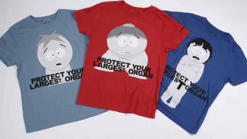 Герои South Park на футболках от Марка Джейкобса