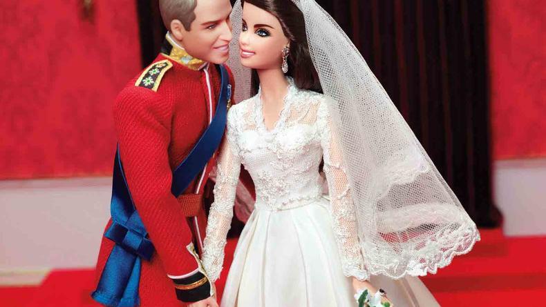 Принц Уильям и Кейт Миддлтон станут куклами Барби
