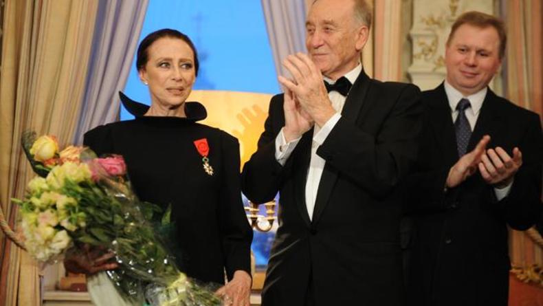 Майя Плисецкая стала офицером Ордена Почетного легиона