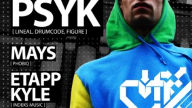 Play Techno w/ PSYK
