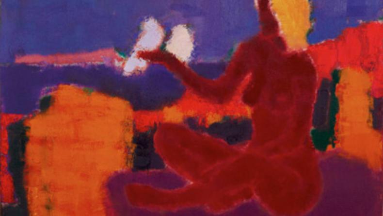 Алегория Петра Лебединца в галерее Мыстецька збирка