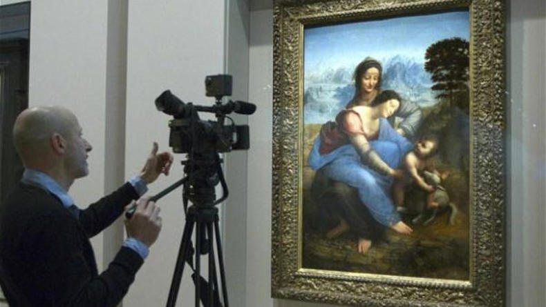 Последняя картина да Винчи выставлена в Лувре