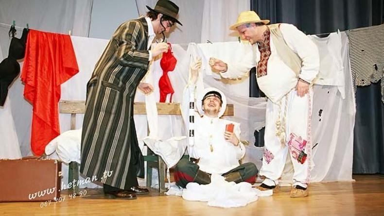 Еврейские анекдоты в исполнении артистов Театра Зеркало