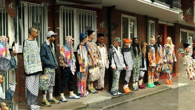 Альтернативный фэшн-показ прямо c улицы Лондона