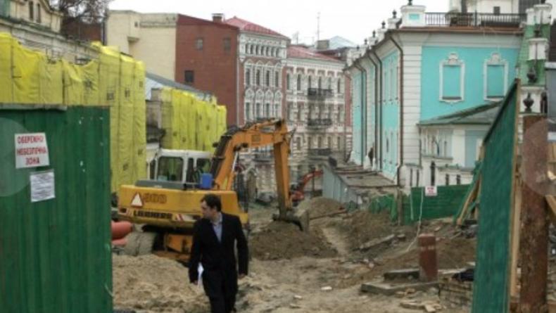 Стартует акция протеста против сноса домов на Андреевском