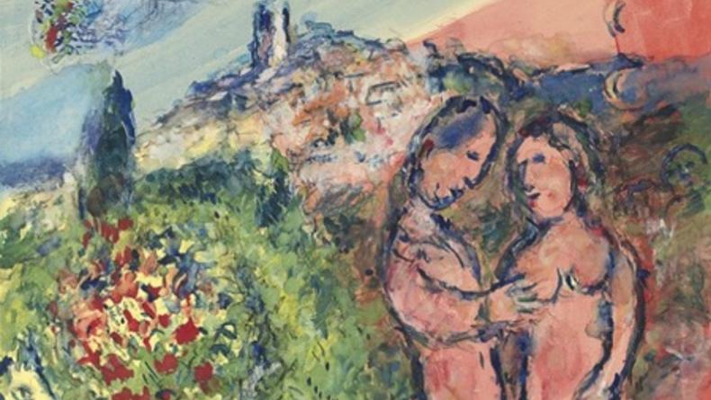 Картины Шагала и Сутина возвращаются на Родину