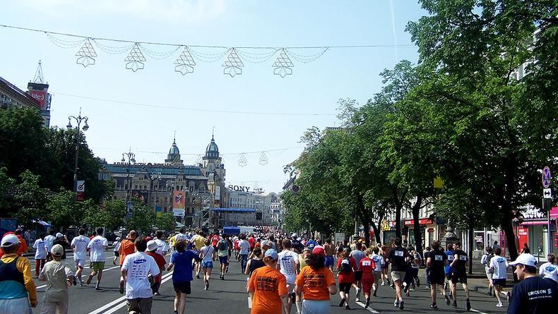 На майские в Киеве состоится ежегодный марафон