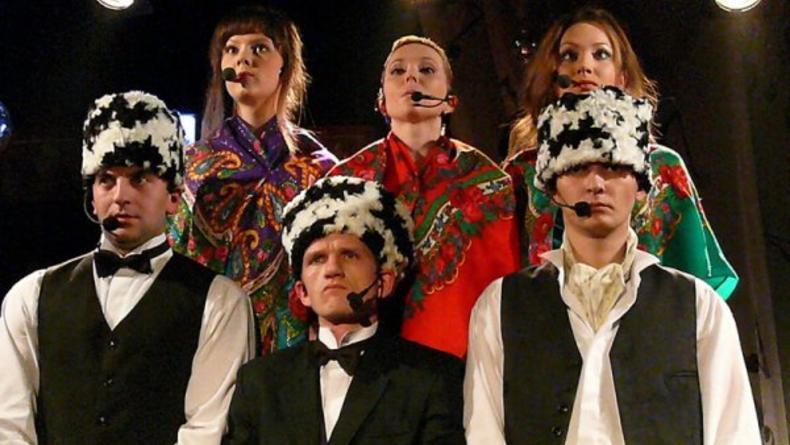 Коктейль фа-соль - песенный спектакль в Колесе