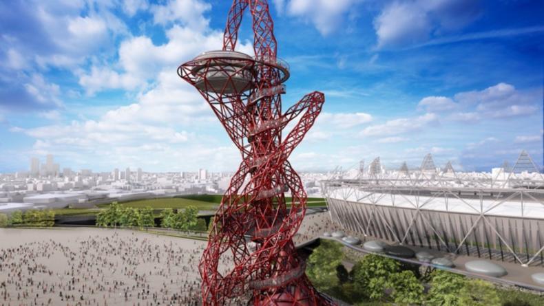 Башня ArcelorMittal Orbit откроется совсем скоро