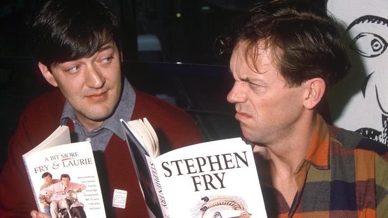 Хью Лори и Стивен Фрай снова работают вместе?