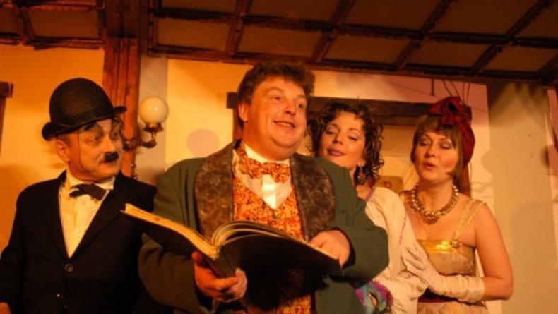 Театр Колесо зовет на водевиль Страсти дома господина Г.-П.
