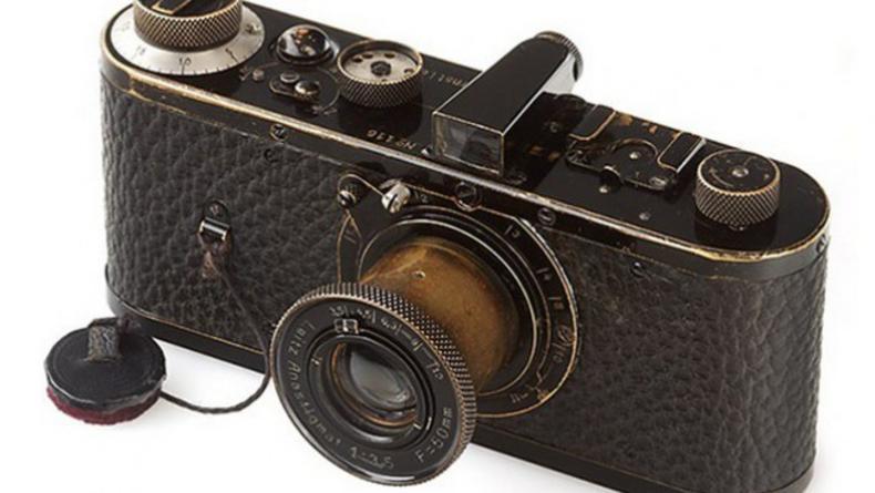 Раритетная фотокамера продана за 2 миллиона евро