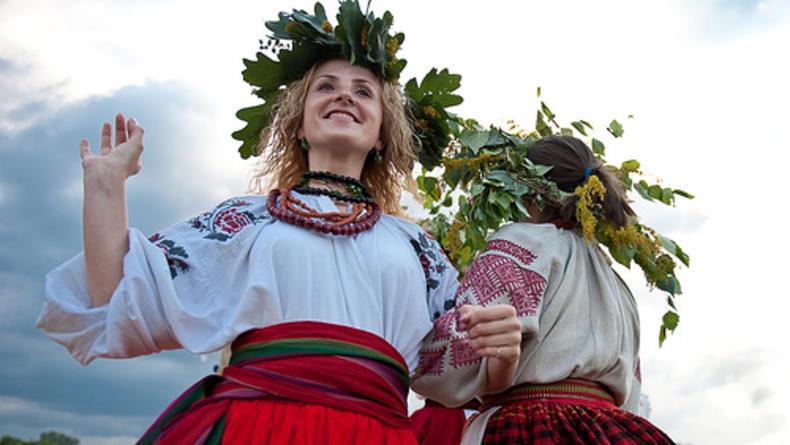Фестиваль украинской национальной культуры в Пирогово