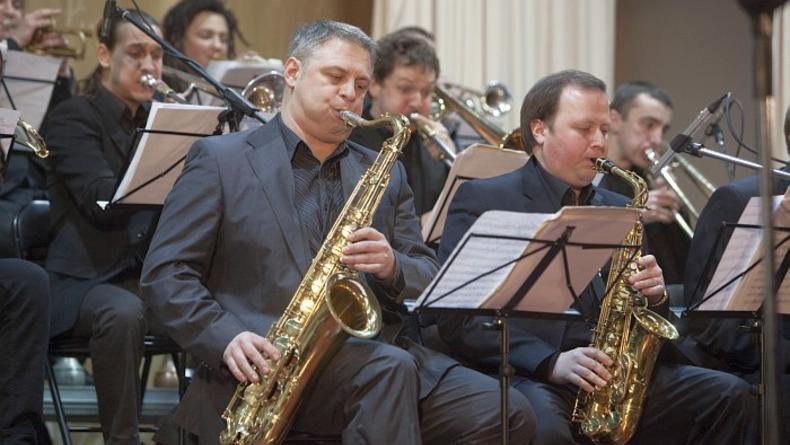 Концерт джаз-бенда Kiev Big Band