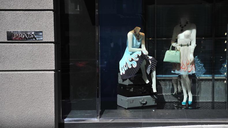 В Пассаже открылся долгожданный бутик Prada