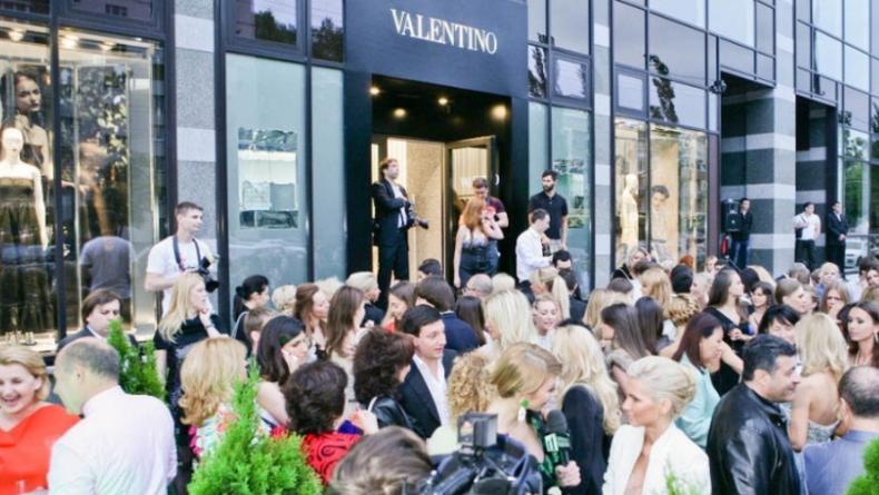 Открытие бутика Valentino - торжество гламура