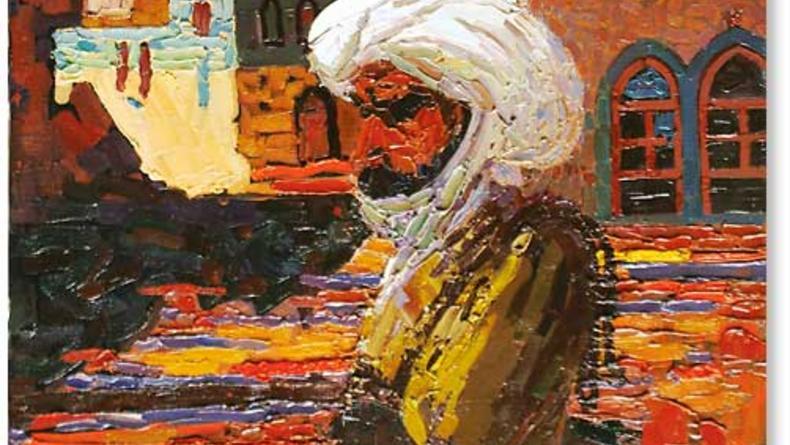Выставка украино-афганского художника Акбара Хурасани