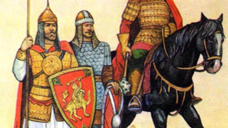Открылась выставка древнего оружия, доспехов и амуниции