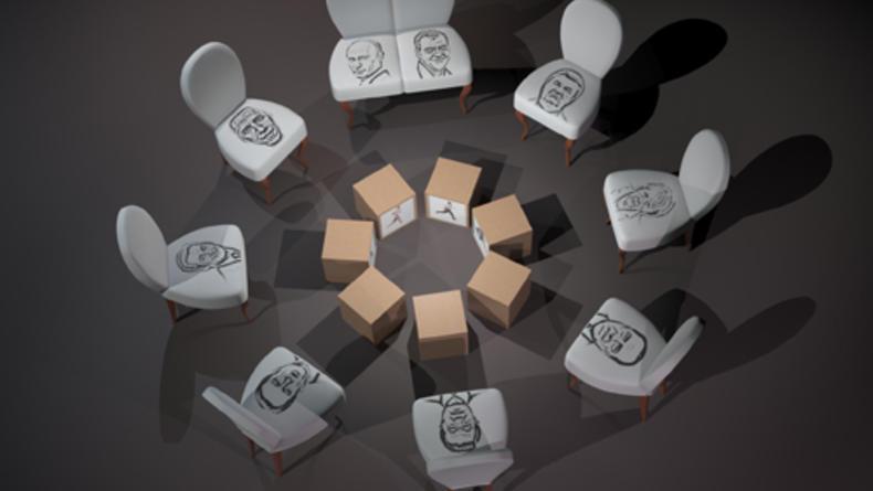 ARSENALE 2012: Инсталляция Леси Мальской Отсоединение