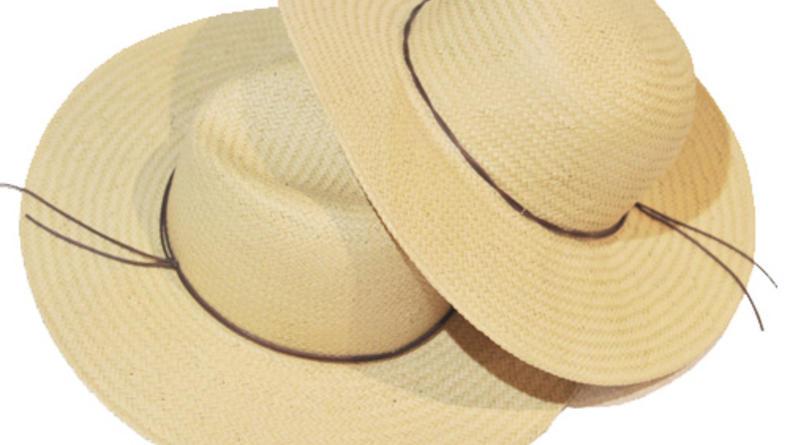 Летние шляпы: солома и ничего лишнего