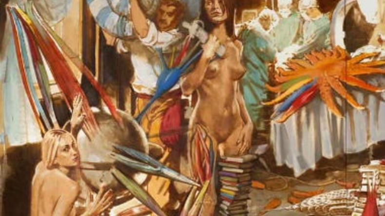 Закрыли скандальную выставку Апокалипсис и Возрождение