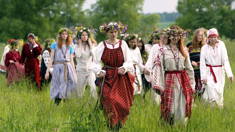 Бои на саблях и древние обряды в Киевской Руси