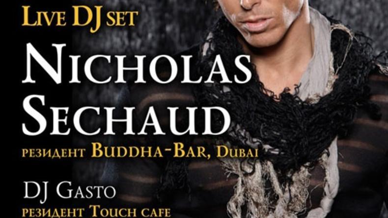 LIVE DJ-SET Nicholas Sechaud from DUBAI