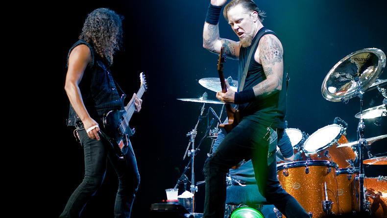 Metallica и Iron Maiden споют Deep Purple (ВИДЕО)