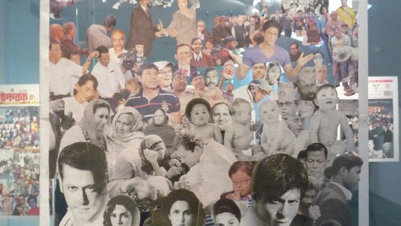 Толпа Жанны Кадыровой в ПинчукАртЦентре: Портрет «конца света».