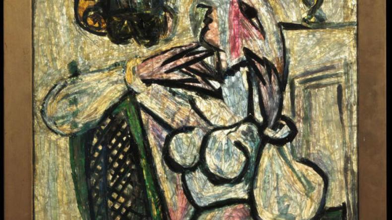 Картина Пикассо 50 лет по ошибке хранилась в кладовке