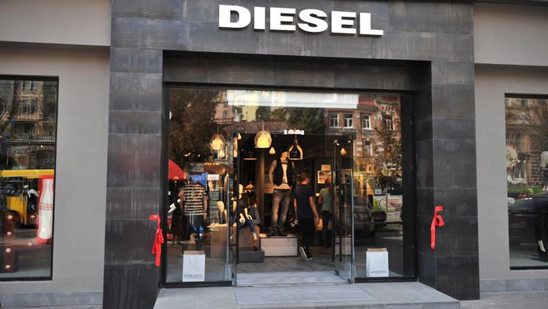 Флагманский магазин Diesel открылся на Крещатике