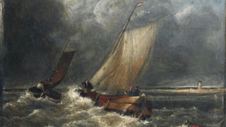 Найдена неизвестная ранее картина Уильяма Тернера