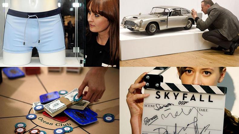 Джеймсу Бонду 50: Вещи агента 007 уйдут с молотка (ФОТО)
