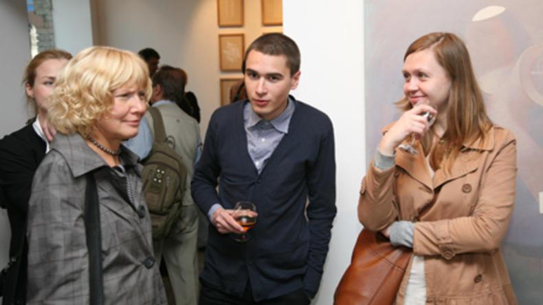 Открывается выставка Никиты Кадана и Лады Наконечной