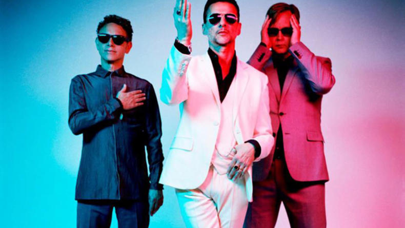 Промо-клип Depeche Mode In Studio Collage (ВИДЕО)