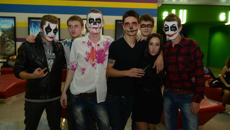 Репетиция Хэллоуина в Kronverk Cinema