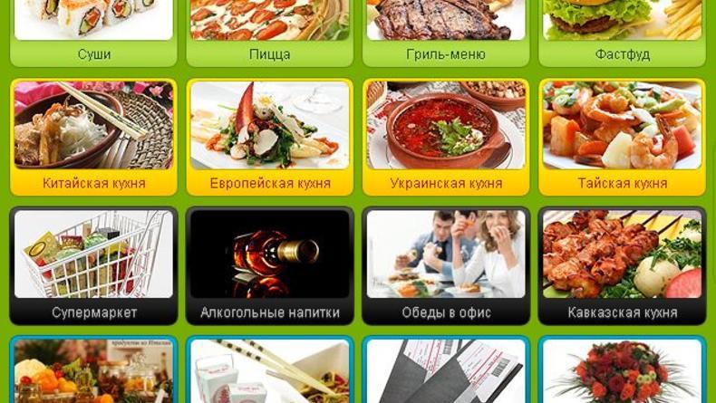 Тест службы доставки еды из киевских ресторанов