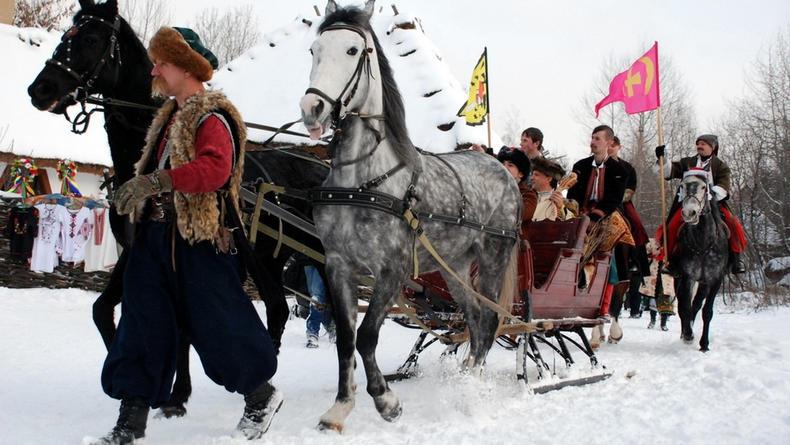 Что предлагают на Рождество этно-парки Киева