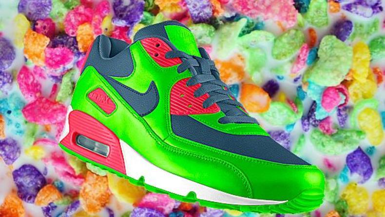 Дизайн кроссовок Nike Air Max созданный вашим Instagram