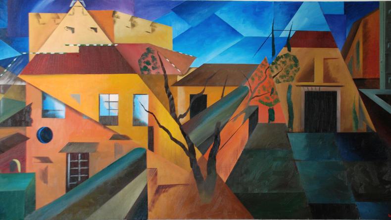 Открывается выставка известного испанского кубиста (ФОТО)