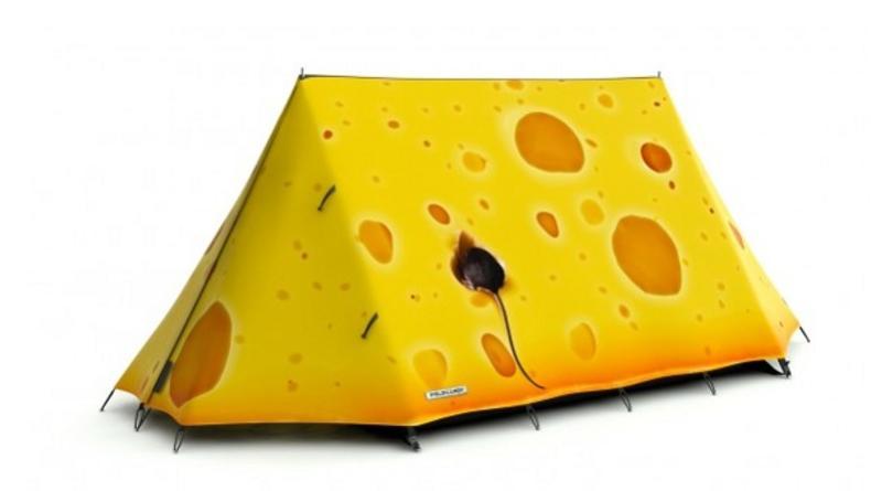 Палатки в виде книги, арбуза или куска сыра (ФОТО)