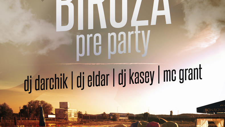 BIRUZA PRE PARTY
