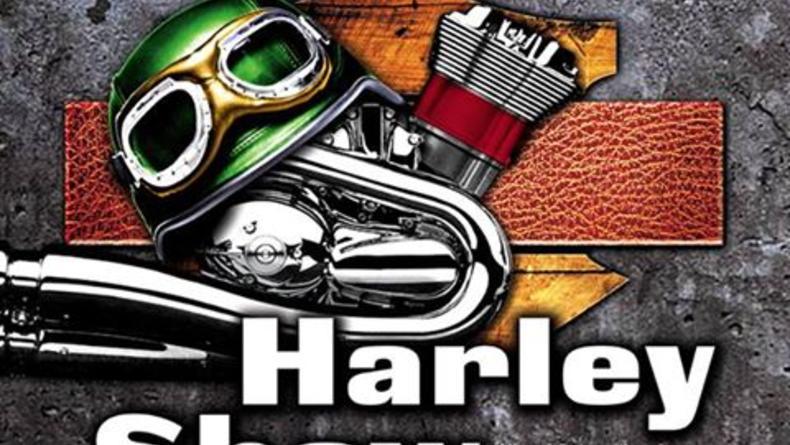 Международная выставка ретро-байков Harley Davidson