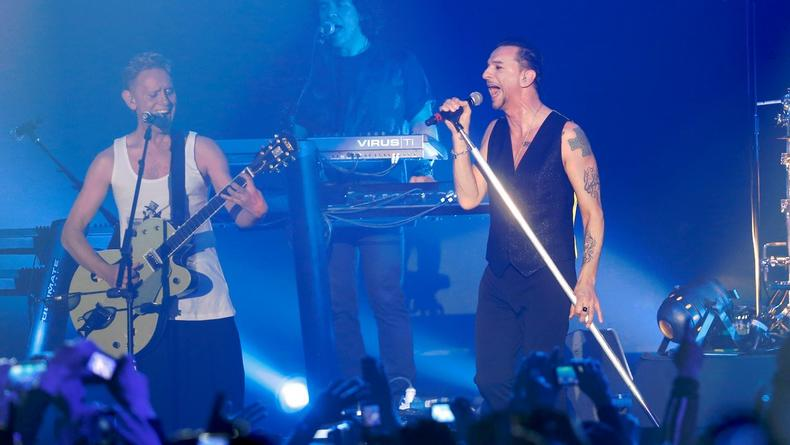 Райдер Depeche Mode: 100 кг льда и раздельные гримерки