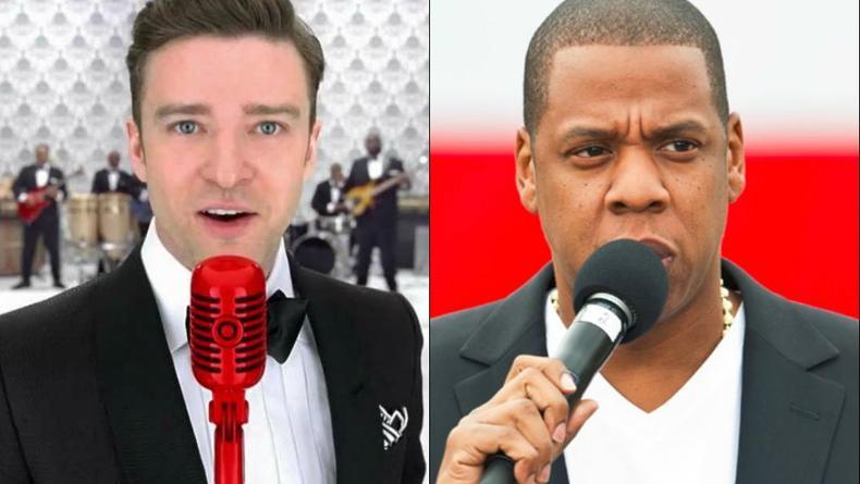 Тимберлейк и Jay-Z исполнили вместе Holy Grail (ВИДЕО)
