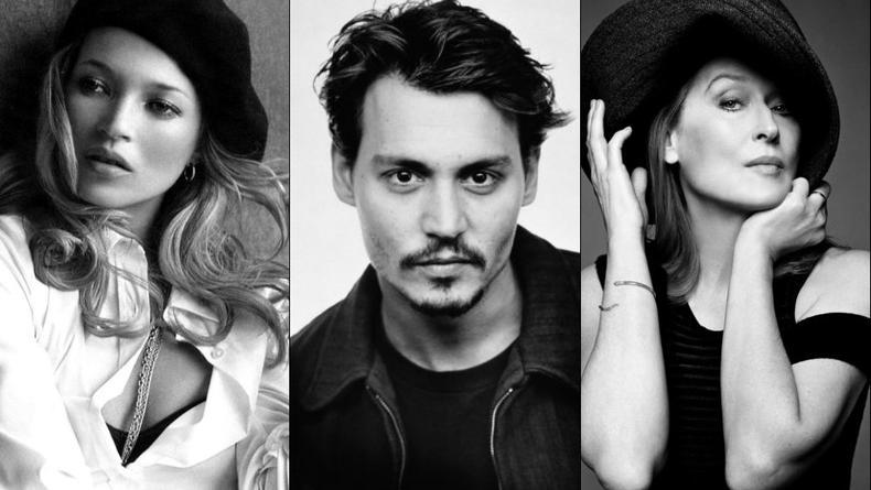 Джонни Депп, Кейт Мосс и Мерил Стрип в одном клипе (ВИДЕО)