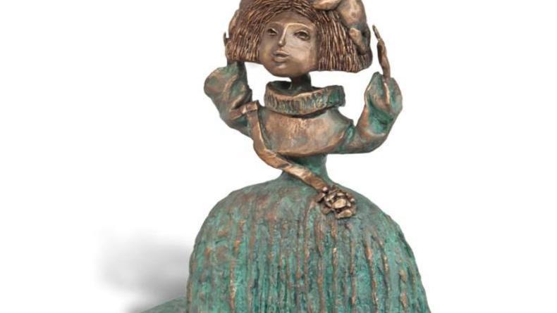 Скульптура, акварель и бронза на новой выставке в Киеве