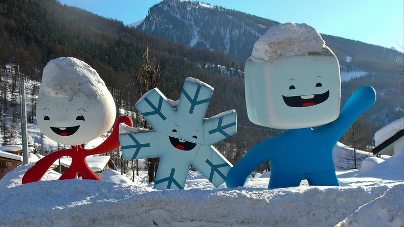 Лучшие талисманы зимних Олимпийских игр